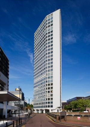 Richard Seifert's 'razor sharp' Alpha Tower in Birmingham (1970-72) makes the grade.