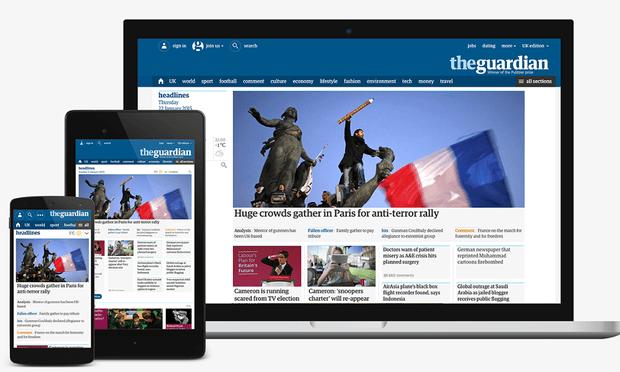 Nuovo sito Guardian