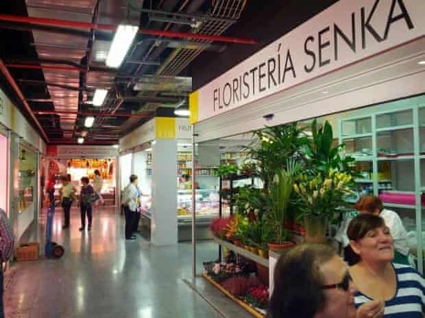 Mercado de Barceló, Madrid