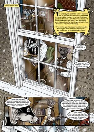 An illustration from Grandville Noel