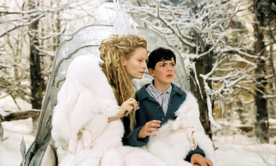 Edmund meets the White White in The Lion, the Witch and the Wardrobe.