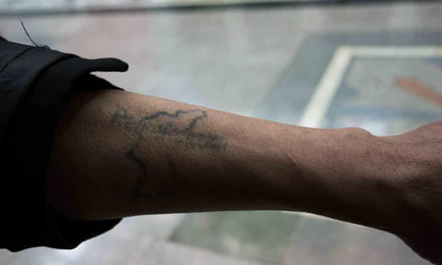 North Korea tattoo