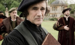 What lies behind the mask? Mark Rylance as Thomas Cromwell.