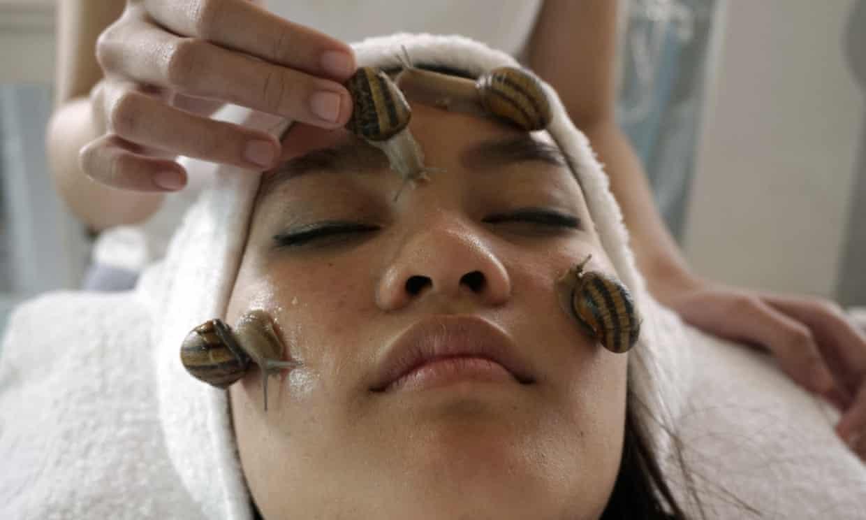 spas beauté étrangers : la bave d'escargot
