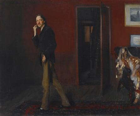 Robert Louis Stevenson and His Wife by John Singer Sargent (18850. Courtesy of Crystal Bridges Museum of American Art, Bentonville, Akansas. Photography by Dwight Primiano
