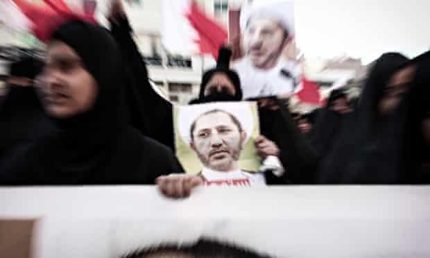 Protest For Sheikh Ali Salman's Freedom In Bahrain