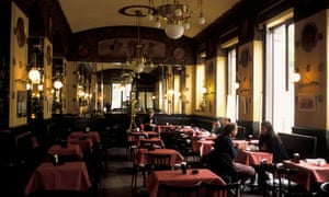 Caffe San Marco in Trieste, Italy.