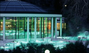 Relax in one of Baden-Baden's thermal baths.