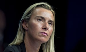 Federica Mogherini, the EU foreign policy coordinator, called the emergency meeting over Ukraine.