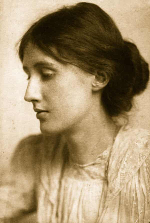 A younger Virginia Woolf, by George C Beresford.