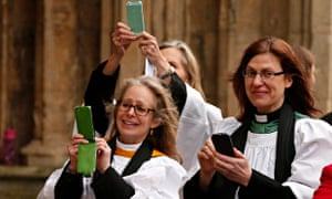 Women priests at the inauguration of Bishop Libby Lane