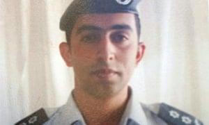Jordanian pilot Muadh al-Kasasbeh