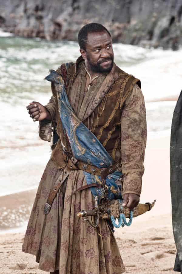 Lucian Msamati as Salladhor Saan in Game of Thrones.