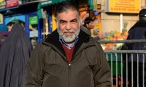Haji Momand, 55, in Ealing Road