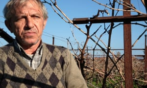 'In Syriza, we found someone to protect us' … grape grower Giannis Tsogkas.