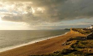 Shore thing … a view of Seaside Boarding House, Burton Bradstock, Dorset