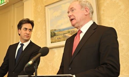 Miliband visit to Ulster