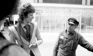 Joe Stevens' shot of David Bowie in Paris