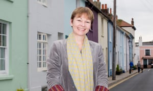 Caroline Lucas Green party MP