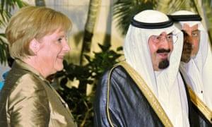 Angela Merkel in Saudi Arabia