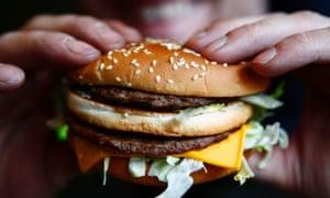 A Mcdonald's Big Mac burger.