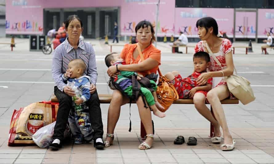china mothers babies