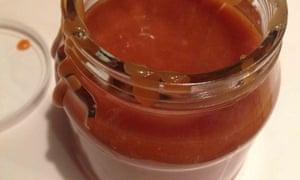 David Lebovitz's salted caramel sauce