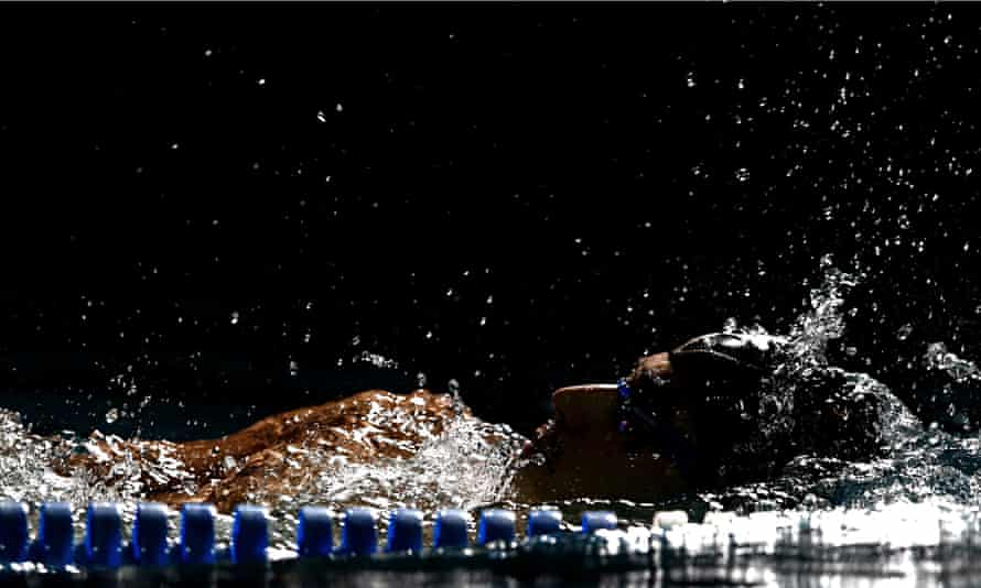 Swimming in England has seen a significant drop in numbers over the last year. Photograph: Sho Tamura/Corbis