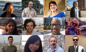 Some of our Guardian Cities bloggers of the week