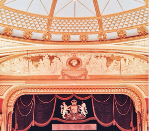 auditorium of royal opera house, london