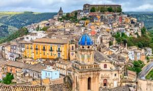 Hilltop jewel … Ragusa Ibla