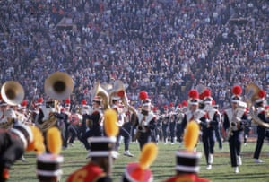 Forget your Beyonces and your Katy Perrys, the half-time show at Super Bowl I was a more traditional affair featuring members of the University of Arizona marching band