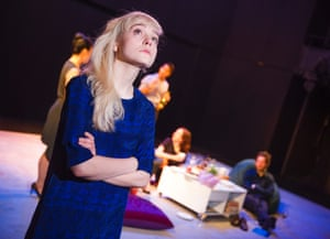 Olivia Vinall as Hilary in The Hard Problem by Tom Stoppard.