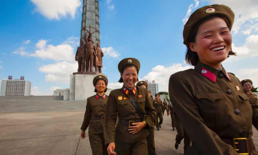 Until now, women have served voluntarily as members of the Korean People's Army