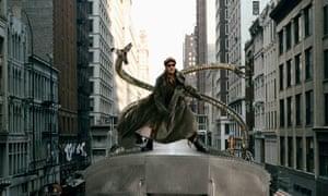 As Dr Octavius in Spider-Man 2.