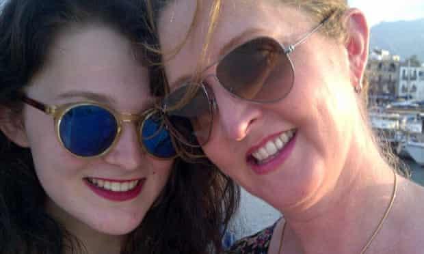 Katharine Norbury and her daughter Evie