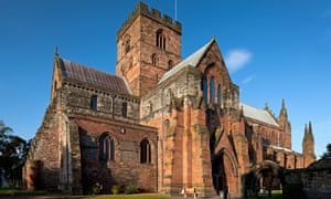 Carlisle Cathedral is one of the smallest in England.