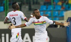 Guinea are through to face Ghana in the Africa Cup Nations Cup quarter-finals after winning a drawing of lots.