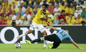 Colombia v Uruguay - FIFA World Cup Brazil 2014 - Second Round