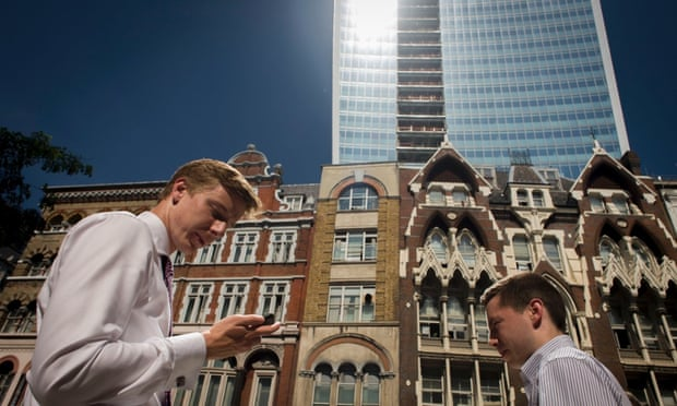 Londoners experience the unexpected intensity of localised solar rays, reflected off the concave plate glass windows of one of the capital's newest skyscrapers known as the Walkie Talkie. The hotspot has surprised developers and passers-by below and which has already melted a parked car and left soft street fittings smouldering in Eastcheap Street, City of London, the capital's financial district. Thermometers placed in the street reached 144F (62 celcius) and city workers poured out of their of