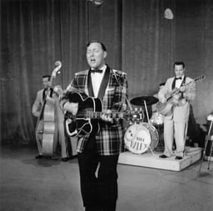 The subversive Bill Haley and His Comets whose Rock Around the Clock was highly coveted in the USSR.