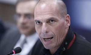 Yanis Varoufakis, new Greek finance minister