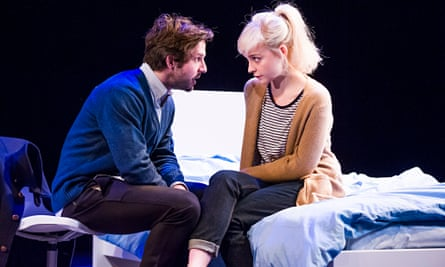 Olivia Vinall and Damien Molony in The Hard Problem by Tom Stoppard at the Dorfman, London.