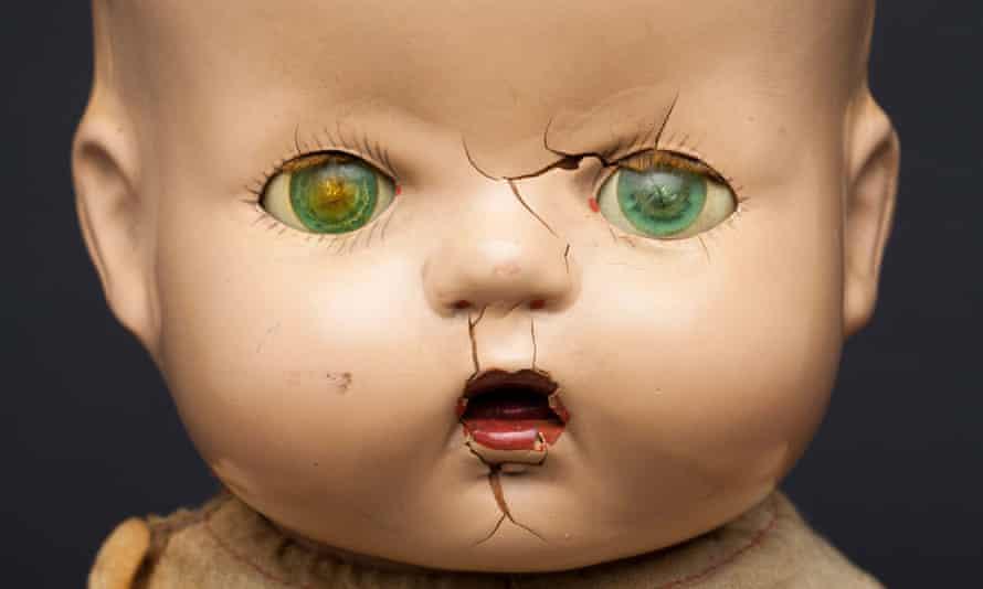 Creepy doll ...