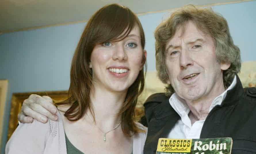James Herbert and his daughter