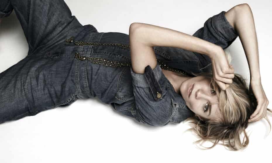 Sienna Miller photographed at Spring Studios