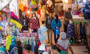 Market in Jakarta