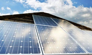 Solar Photovoltaic cells on a domestic house