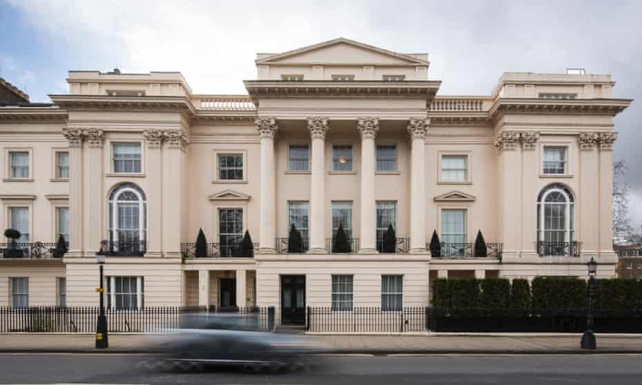 Cornwall Terrace, where the Qataris had hoped to create a super-mansion