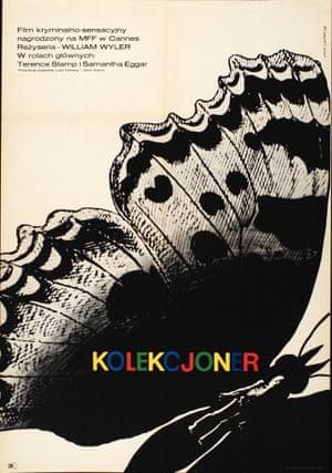 The Collector (Dir. William Wyler), designed by Eryk Lipiski